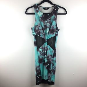 Nasty Gal | Galaxy Dress w/ knot in the Middle